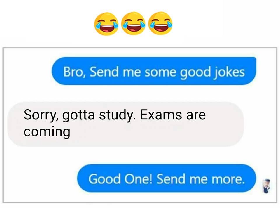 Bro send me some good jokes - AhSeeit