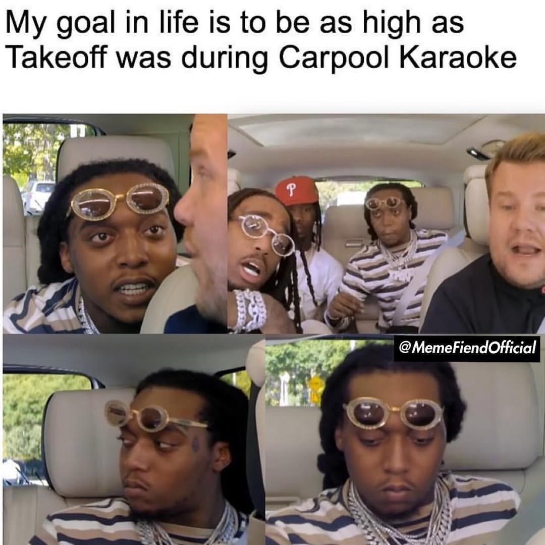20 Takeoff S Carpool Karaoke Reaction Face Memes Ahseeit