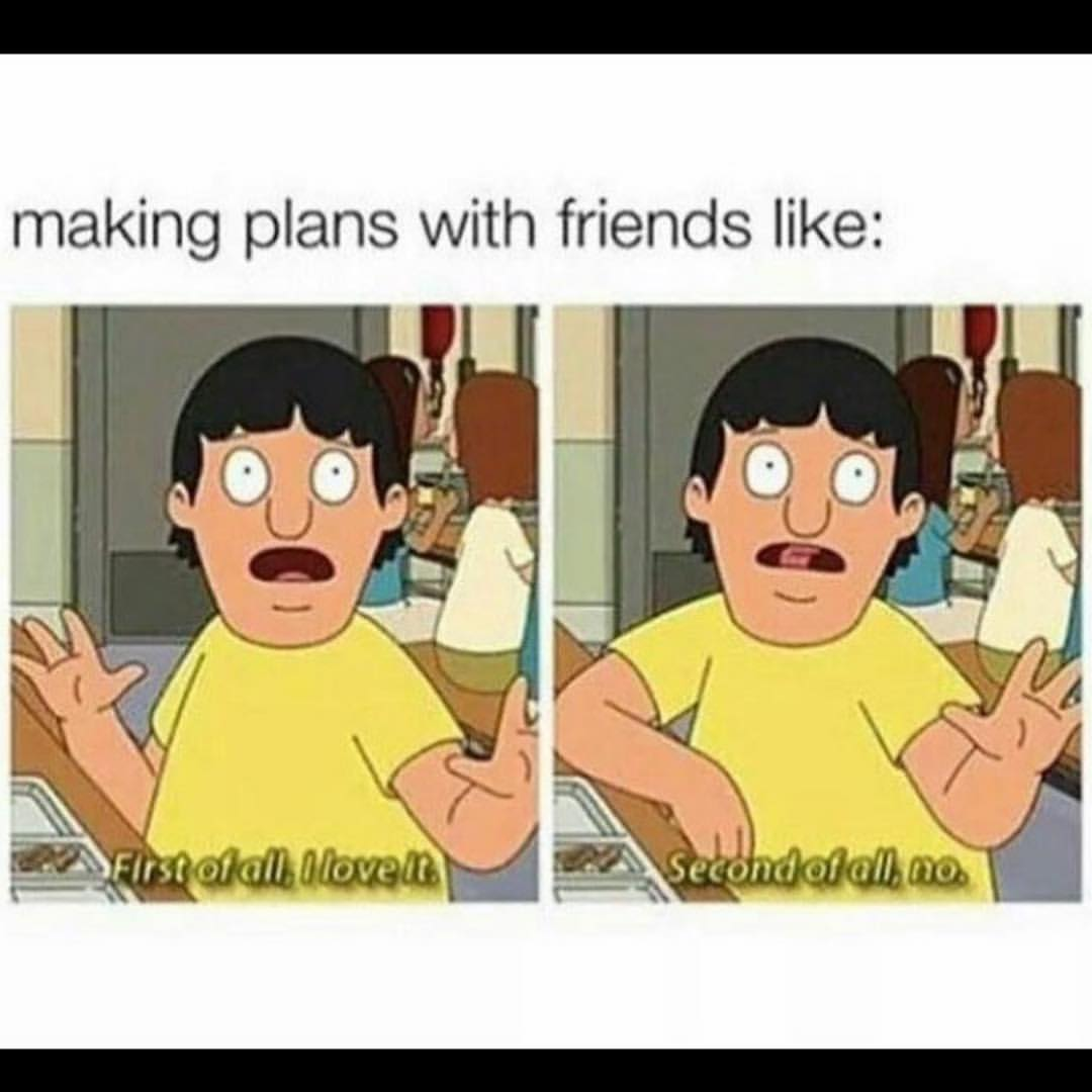 Trying to make recent friends