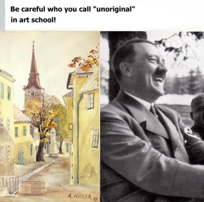 Art School Vs Hitler Meme Ahseeit