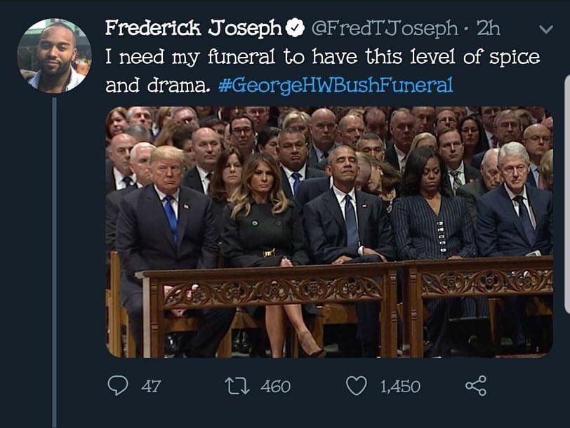 25 Best George H W Bush Funeral Memes Ahseeit