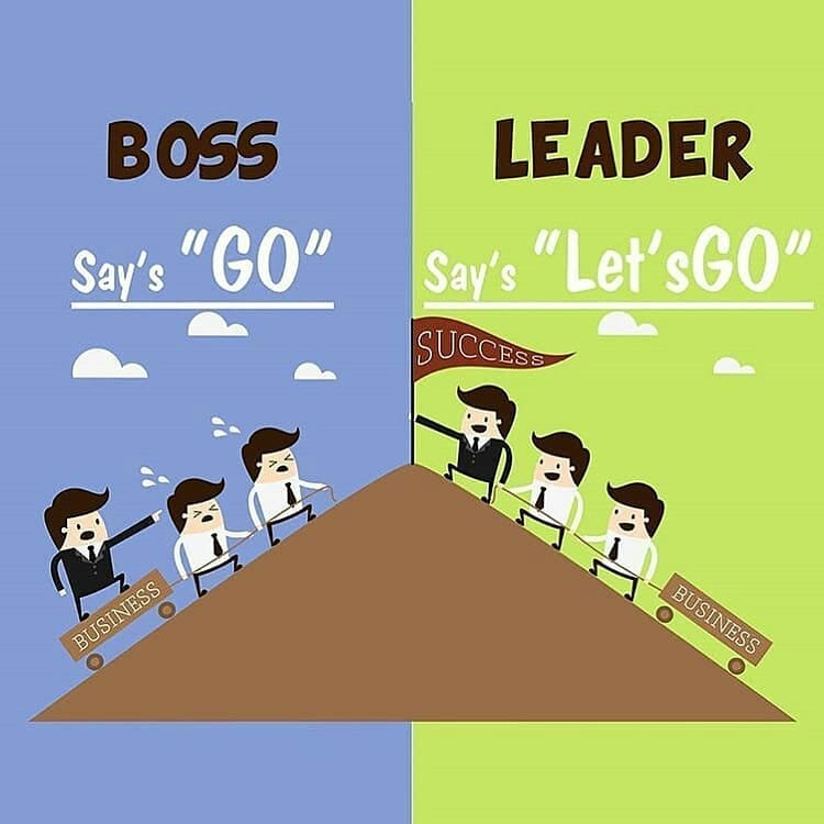 Boss Vs Leader Meme Ahseeit