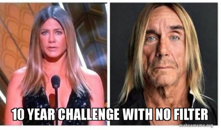 Risultato immagini per 10 year challenge meme