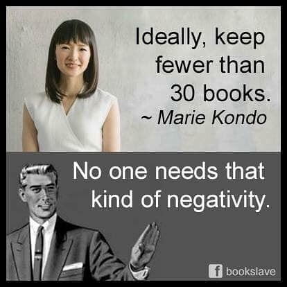 Image result for marie kondo meme