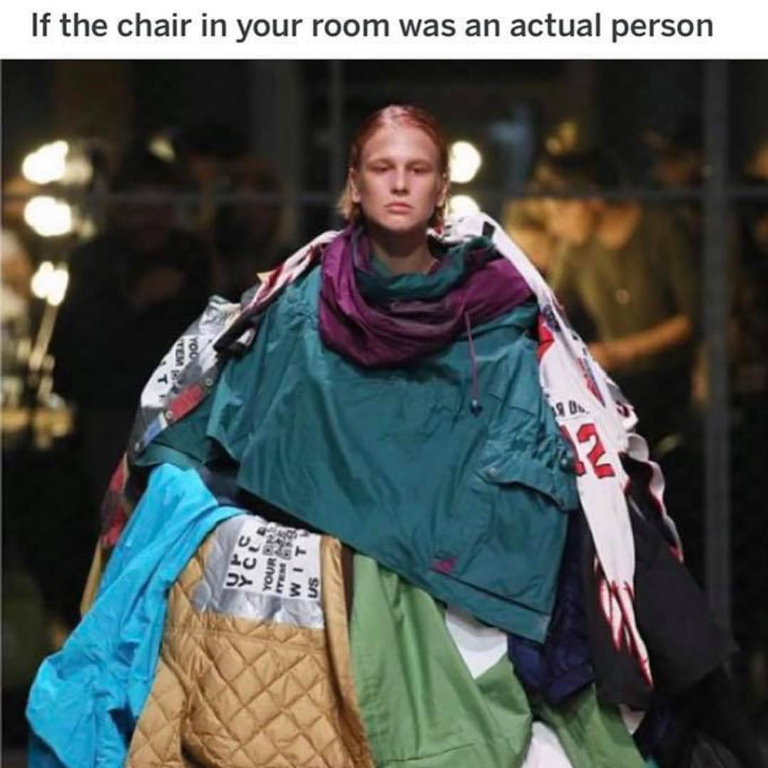 Wondrous If The Chair In Your Room Was An Actual Person Meme Ahseeit Download Free Architecture Designs Scobabritishbridgeorg