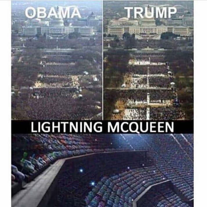 Obama Trump Vs Lightning Mcqueen Meme Ahseeit