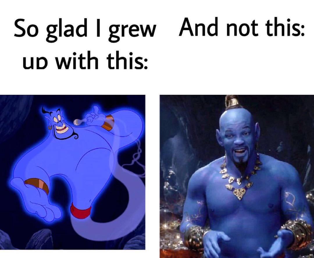 Aladdin Genie Meme