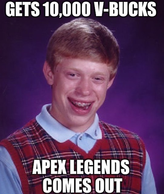 Gets 10 000 V Bucks Apex Legends Comes Out Meme Ahseeit