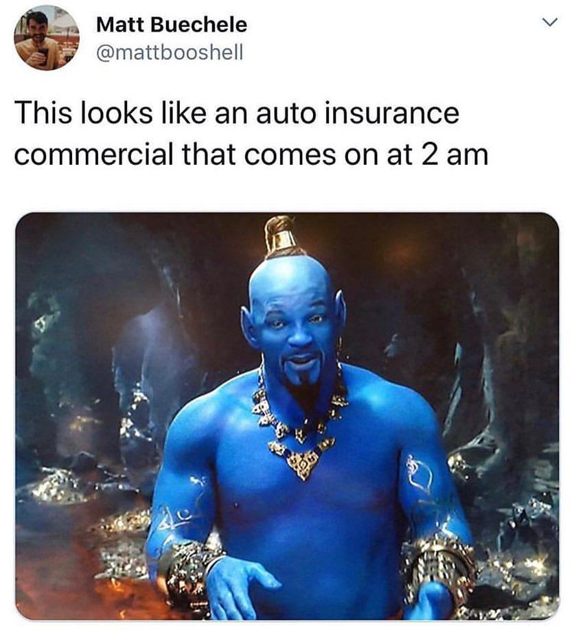 45+ Funniest Aladdin Will Smith's Genie Trolls Memes - AhSeeit