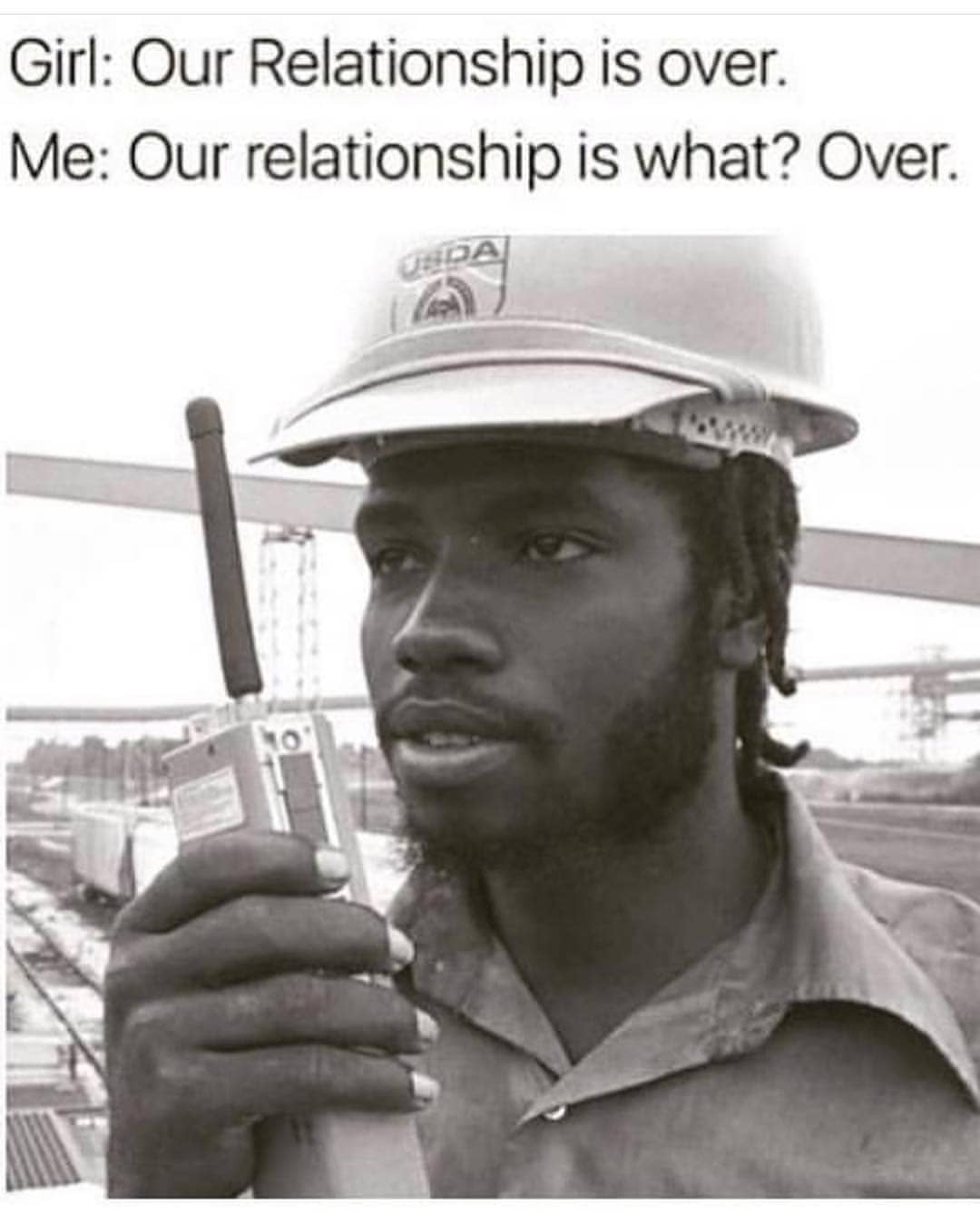 Relationship is over meme
