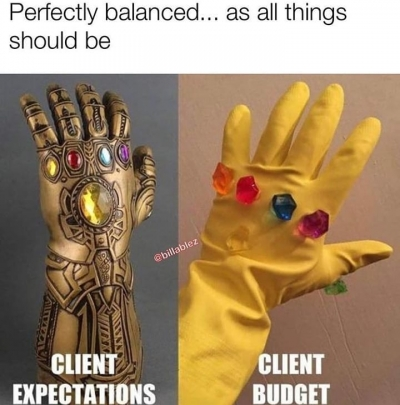 Perfectly Balanced As All Things Should Be Meme Ahseeit Perfectly balanced refers to a quote from thanos in avengers: perfectly balanced as all things should
