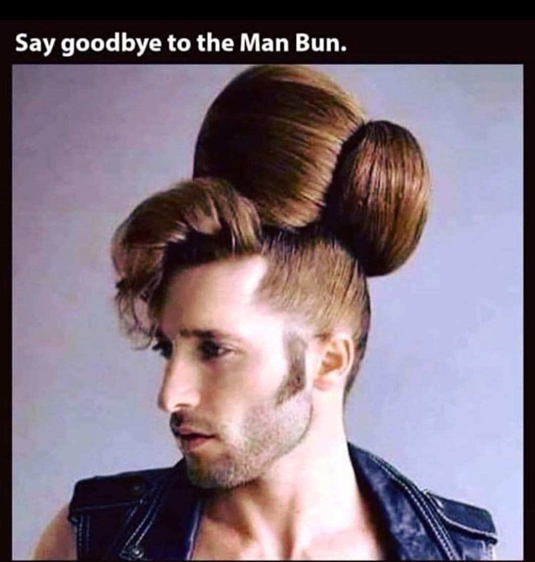 Say Goodbye To The Man Bun Meme Ahseeit