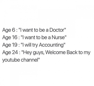Age 24 Hey guys welcome back to my YouTube Channel meme - AhSeeit