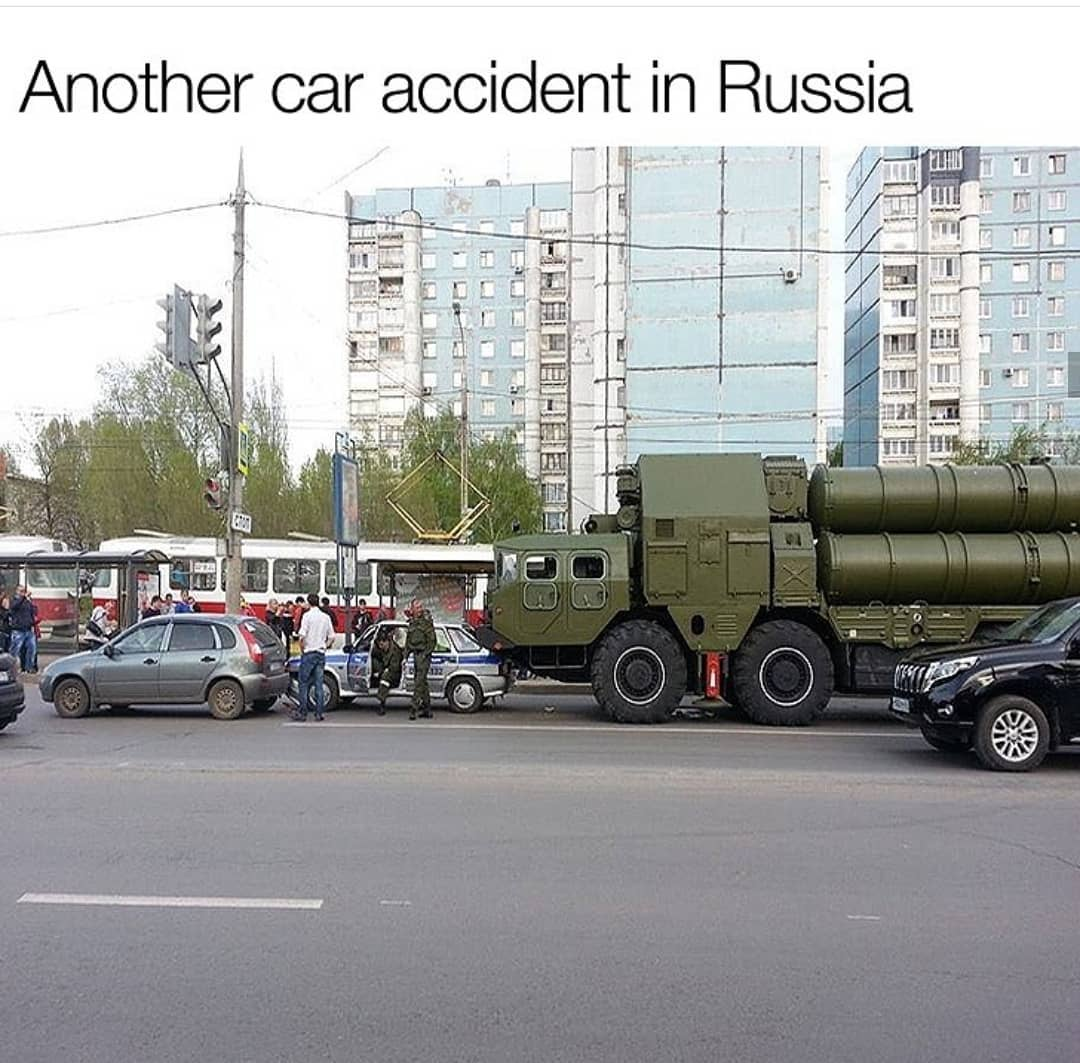 Another Car Accident In Russia Meme Ahseeit