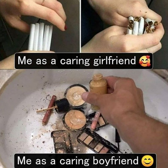 Girlfriend me as a Get revenge