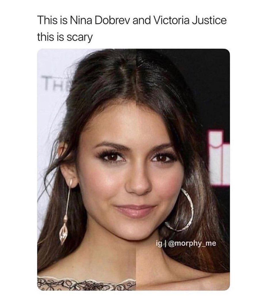 Nina Dobrev And Victoria Justice