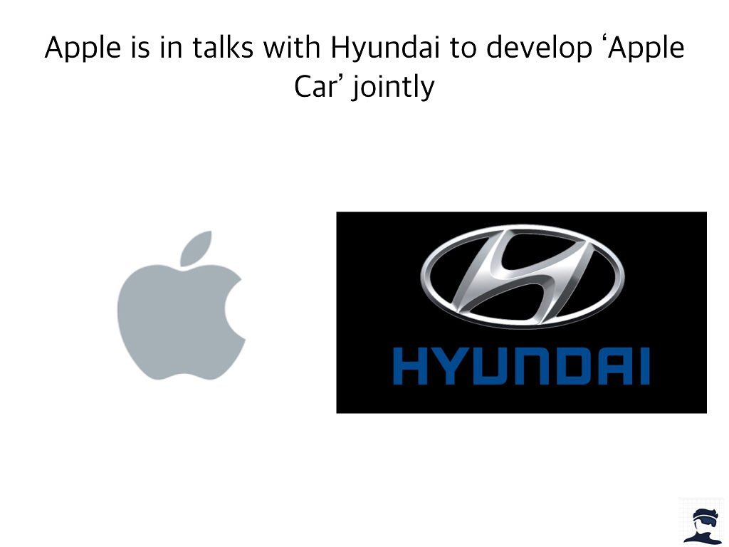 Apple Is In Talks With Hyundai To Develop Apple Car Jointly Meme Ahseeit