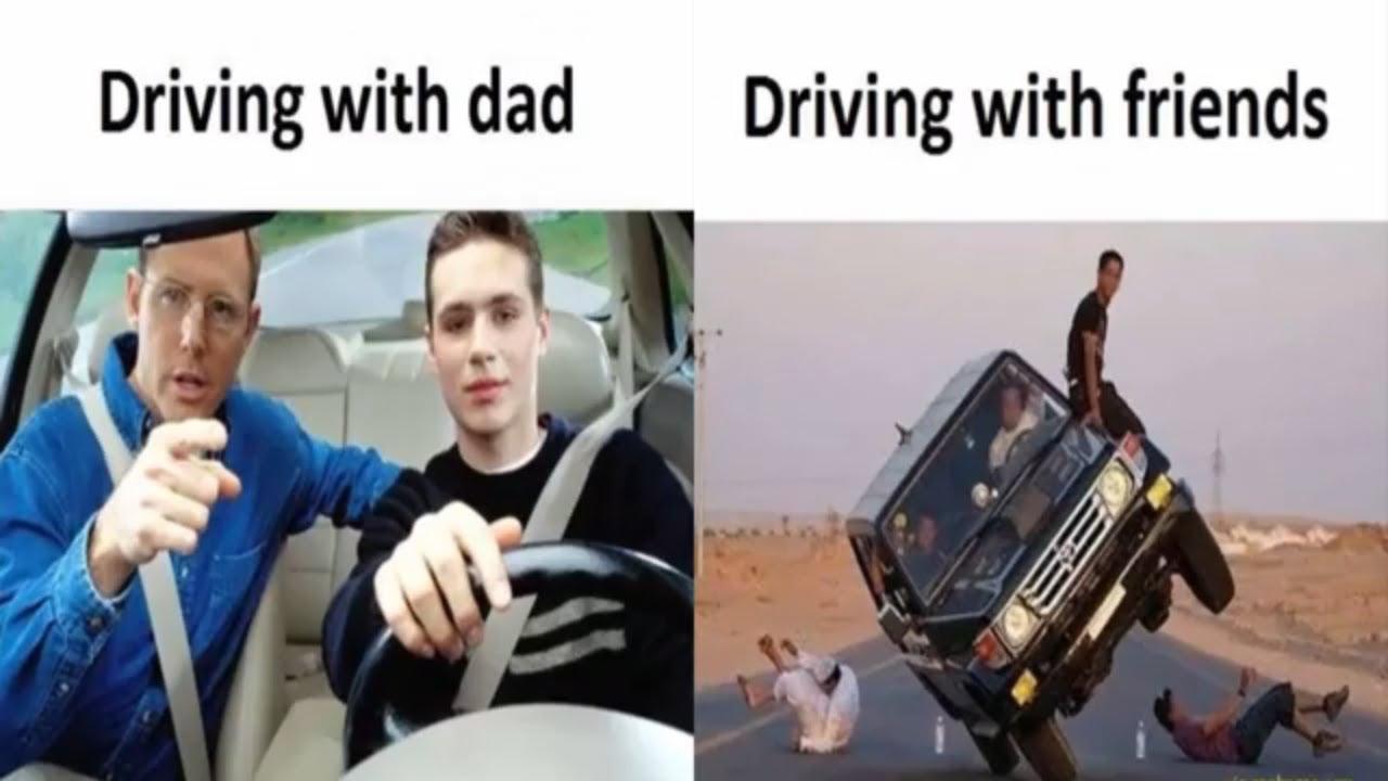 Dad is dad, friends are friends meme - AhSeeit