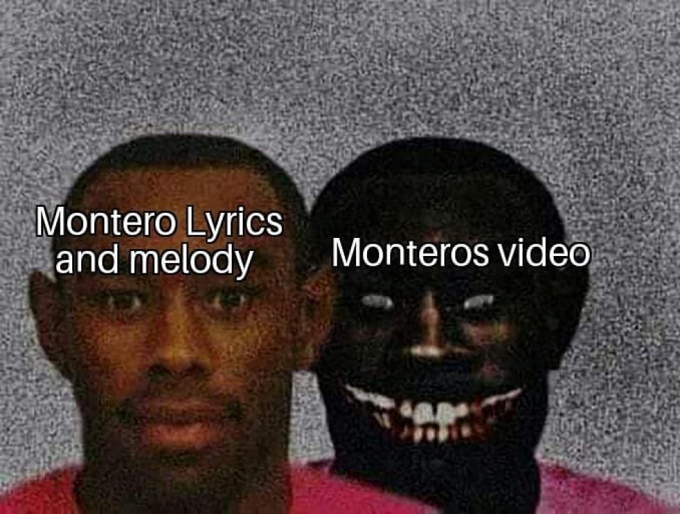 Montero lyrics and melody monteros video meme - AhSeeit