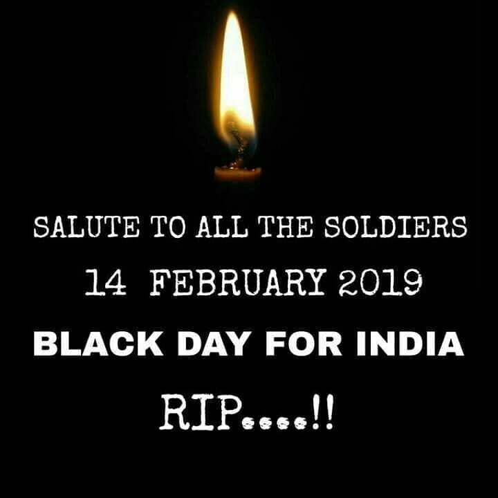 Image result for salute to pulwama soldiers