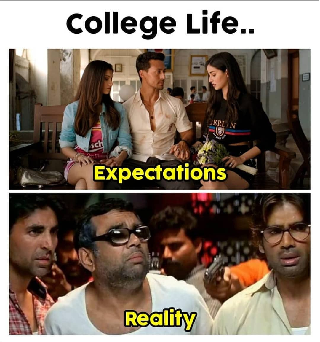 8. Be social and open-minded | College life Expectations vs Reality meme | What No One Tells You About Engineering |