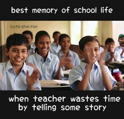 List Of Best School Hindi Memes