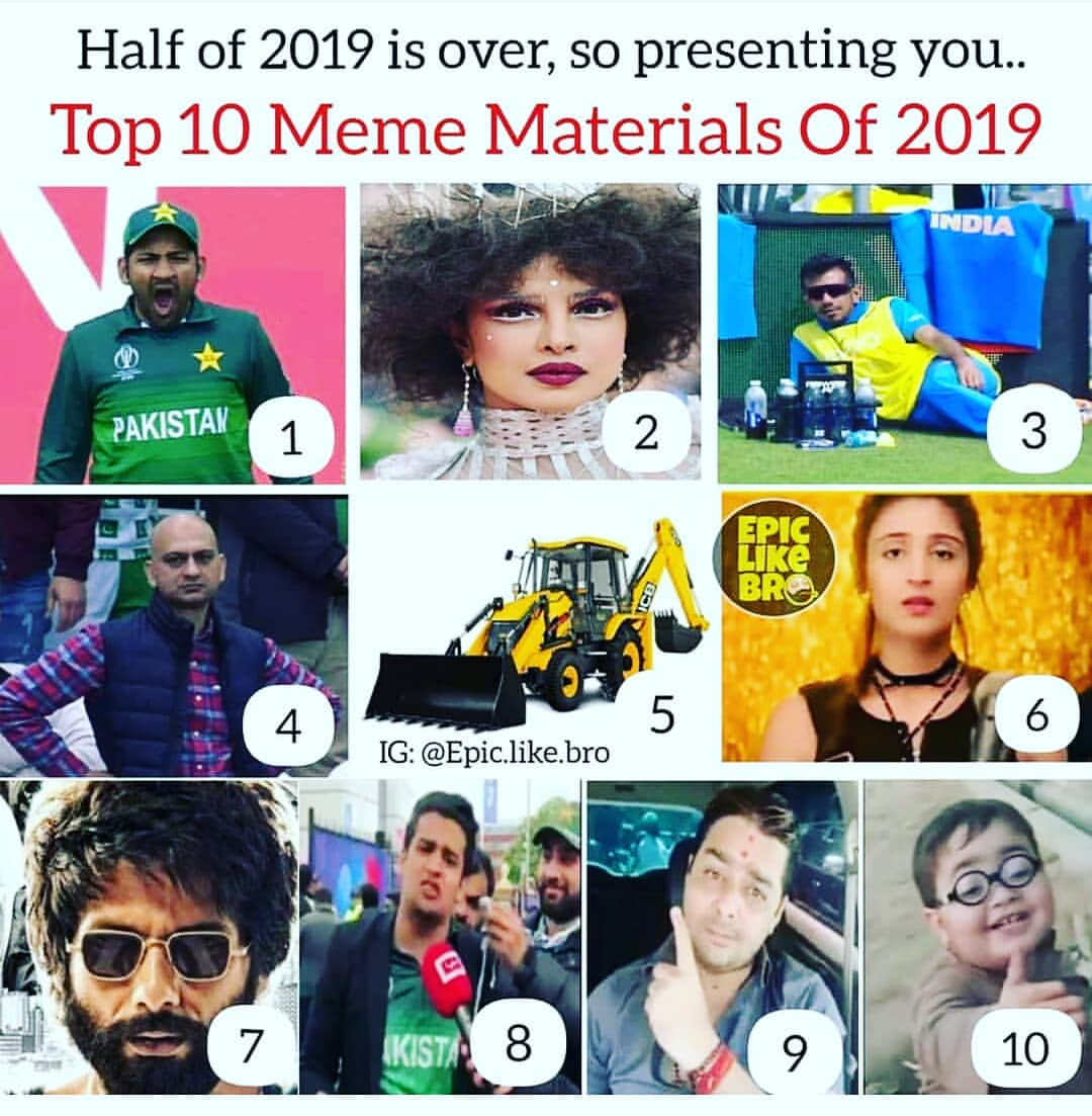 Top 10 Memes Of 2019 India