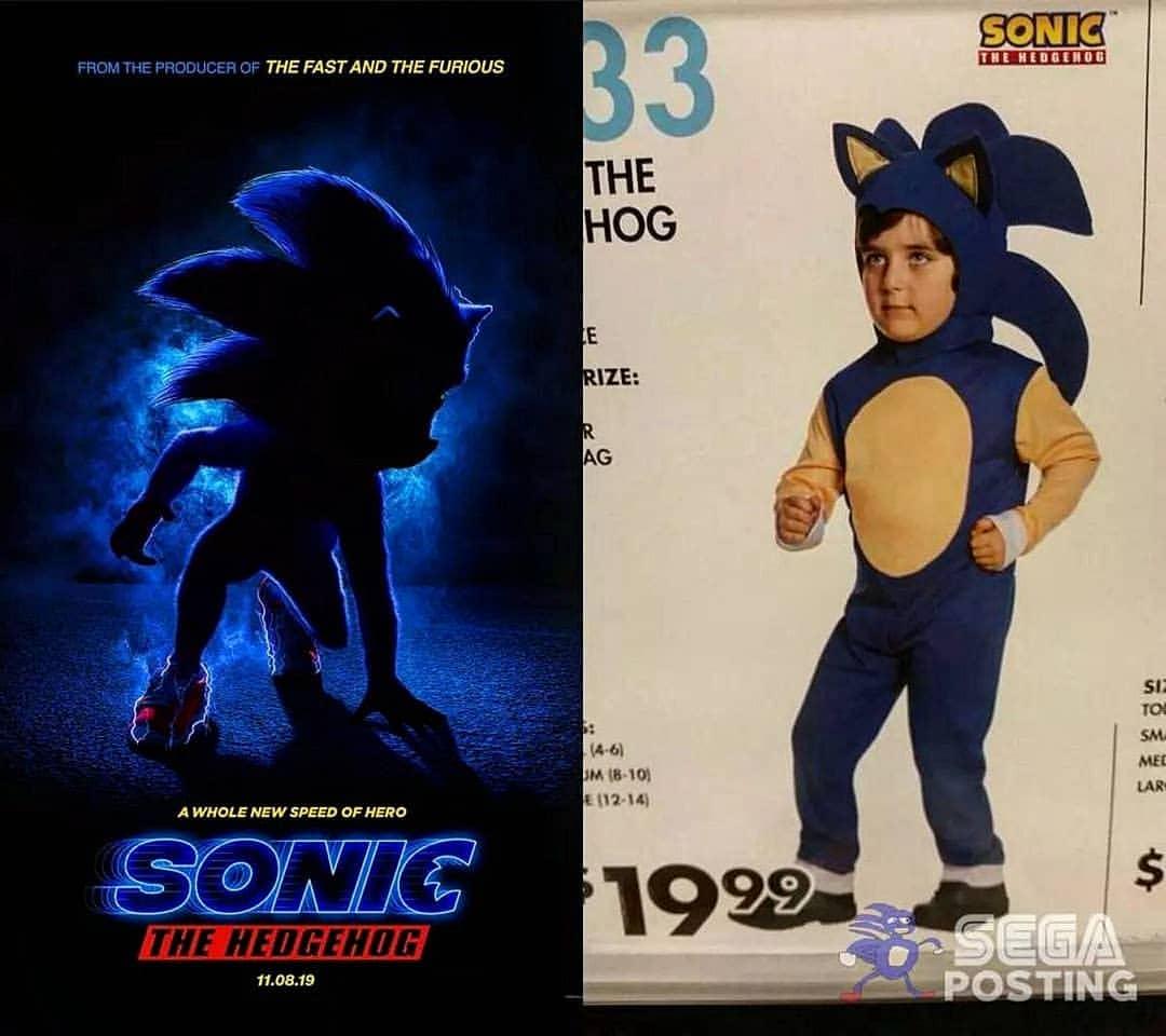 25+ Best Sonic The Hedgehog Movie Poster Memes - AhSeeit