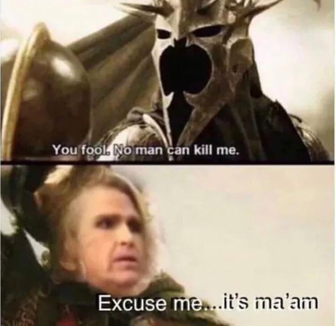 Excuse me it's Ma'am meme - AhSeeit