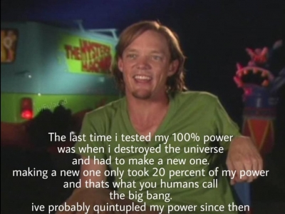 Shaggy like finally an excuse to use 15% of my power meme ...