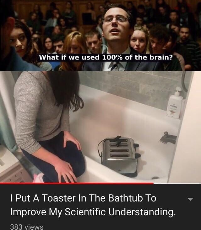 I Put A Toaster In The Bathtub To Improve Meme Ahseeit