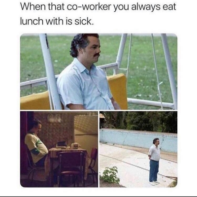 Co-worker welcome back how was your vacation Meme - AhSeeit