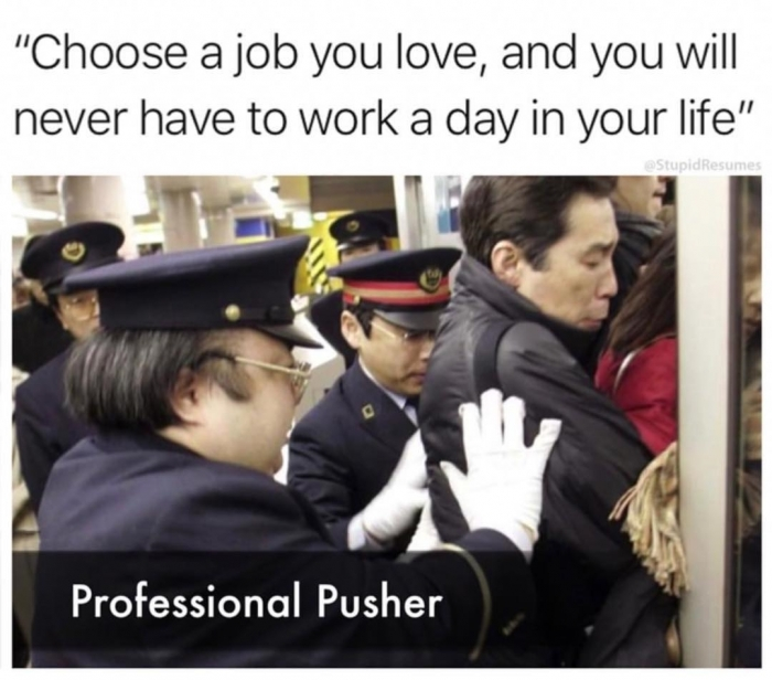 Why did you you choose to work for our company meme - AhSeeit