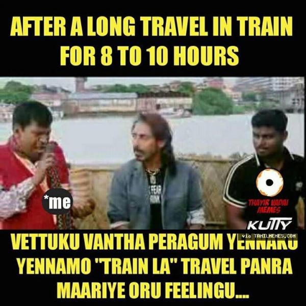 45+ Best Travelling Memes Tamil - Tamil Memes