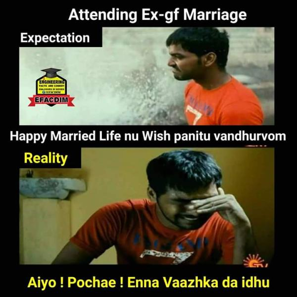 Women S Relationship Blogs Ex Getting Married Meme