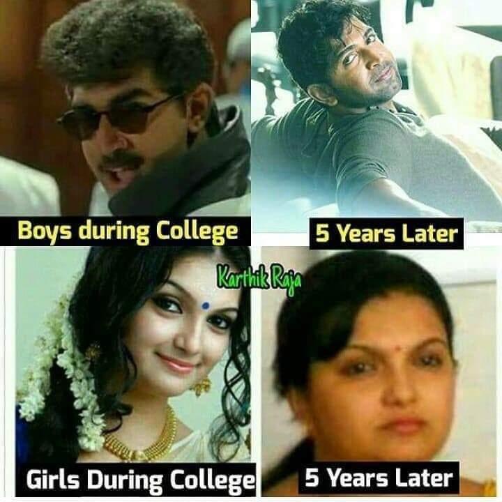 Boys Vs Girls Meme Tamil
