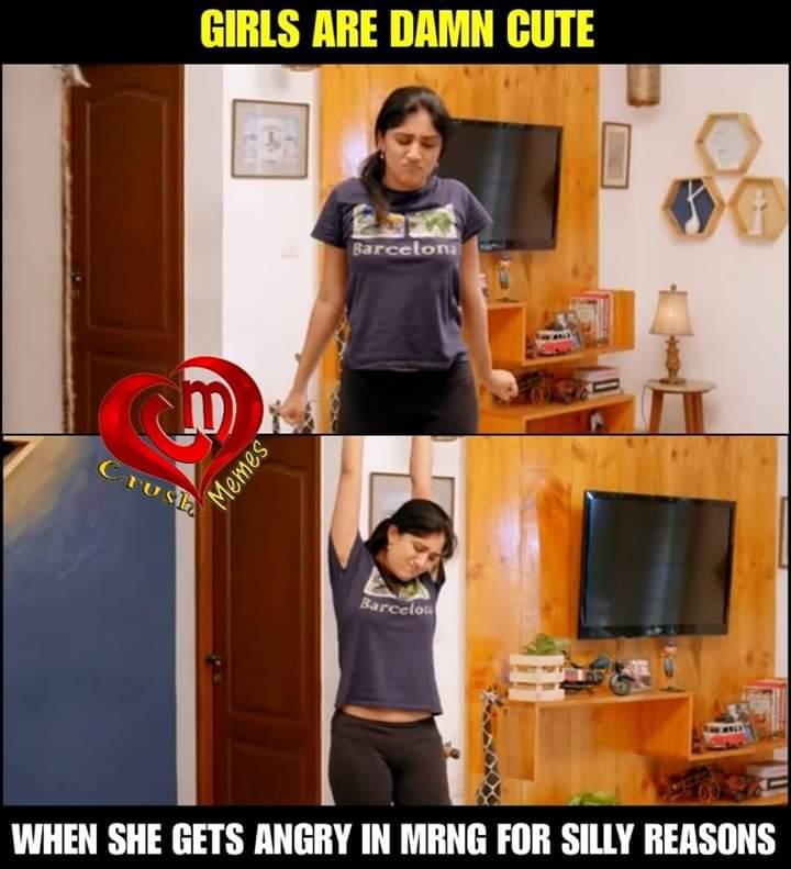 Girls Are Damn Cute Tamil Memes