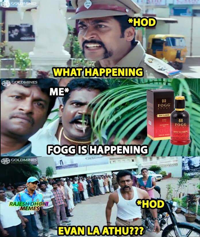 Fogg perfume ad meme funny - Tamil Memes