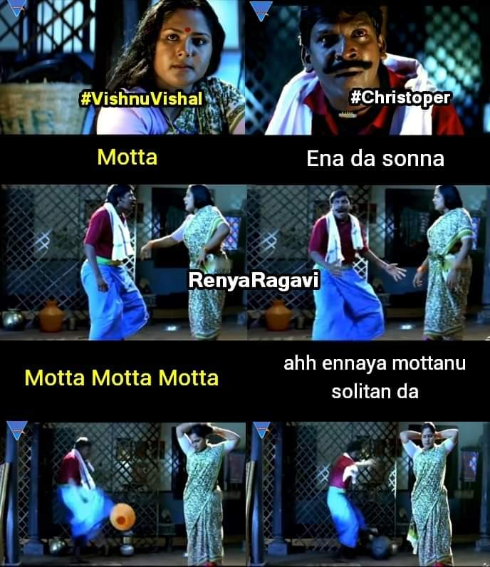 Raatchasan movie - Vishnu-vishal and Christopher climax scene meme