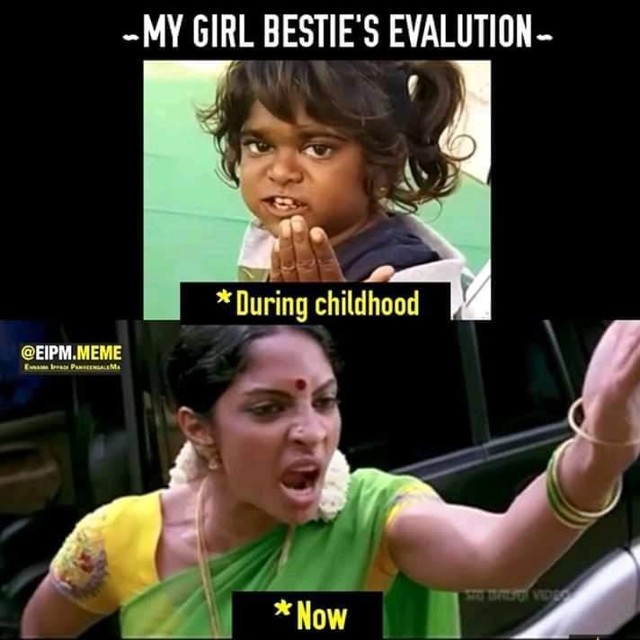 My Girl Besties Evaluation Meme