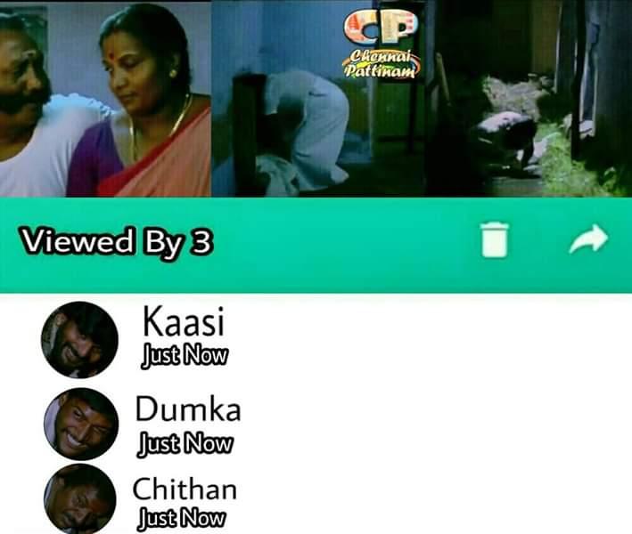 Viewed by kaasi and chithan Subramaniapuram Movie raasathi