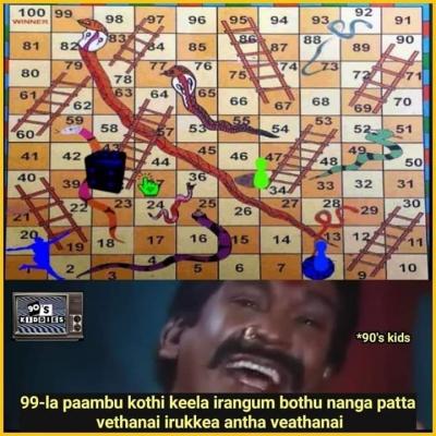List Of Best Ludo Tamil Memes