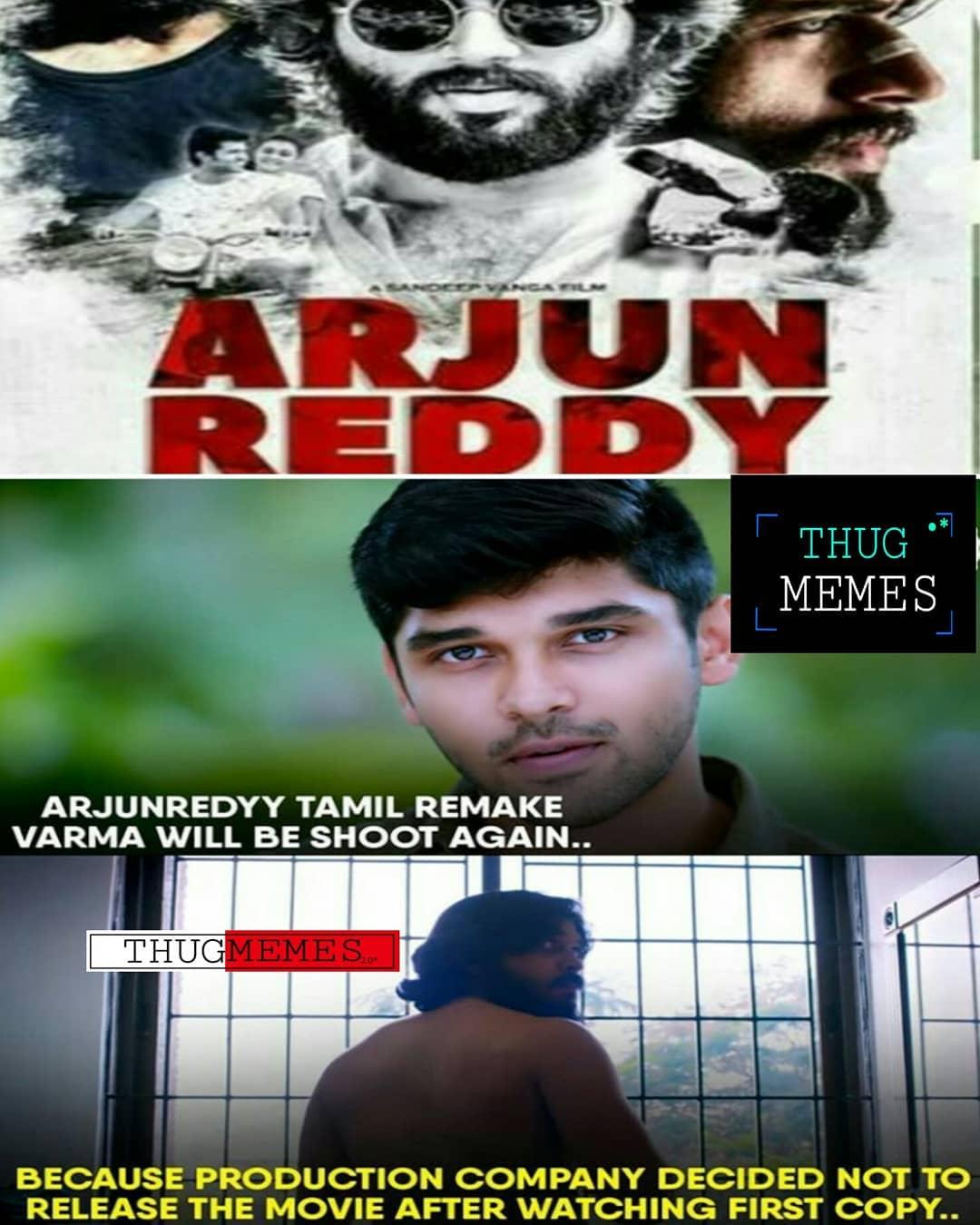 25 Arjun Reddy Tamil Remake Varma Movie Dropped By Producer Meme