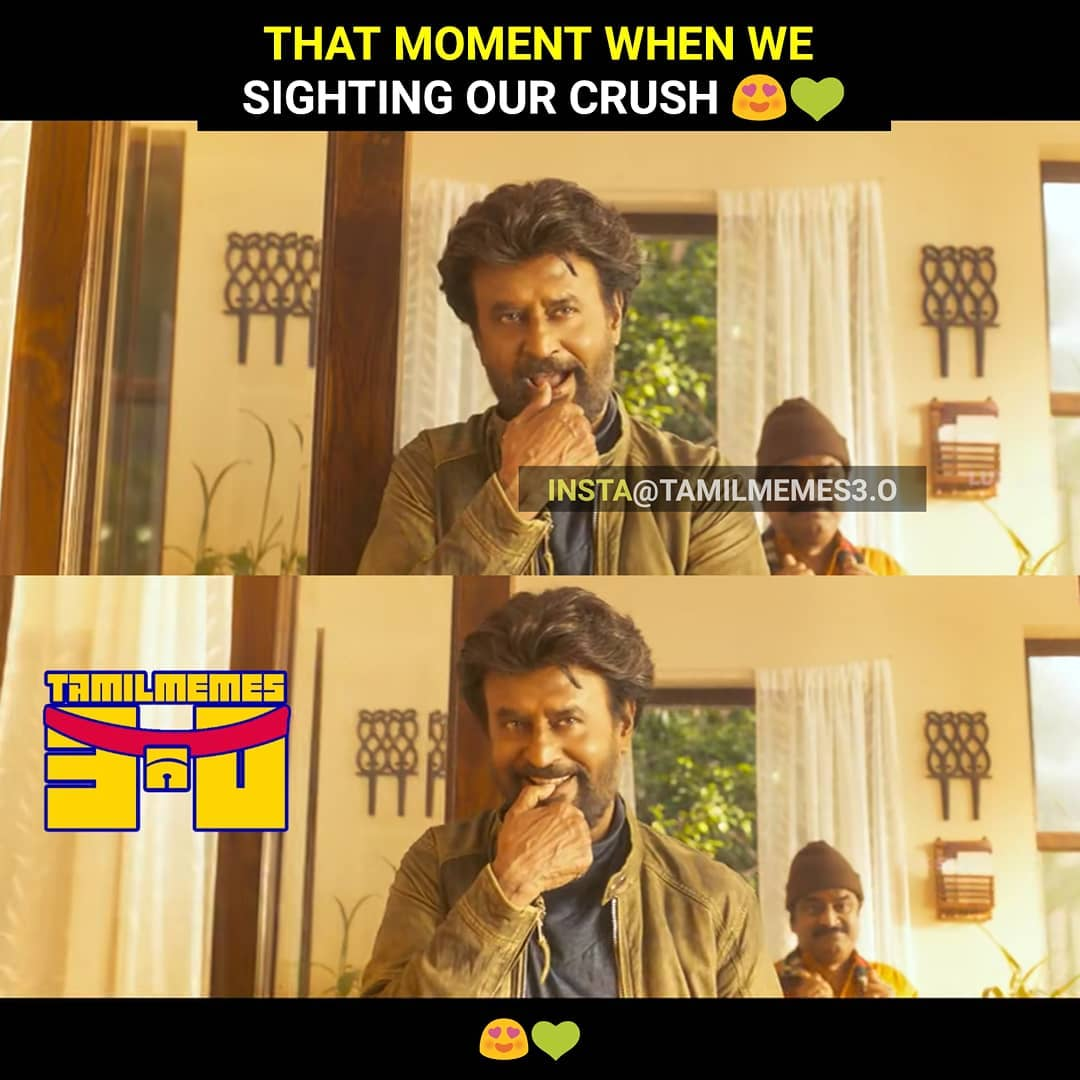 When we sight Adichiflying our crush meme - Tamil Memes