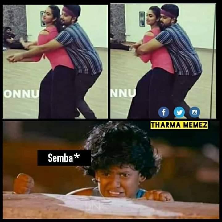 Semba Angry To Chinnaya Meme Tamil Memes