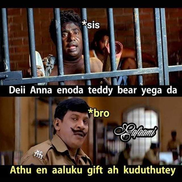 Teddy Day Sothanaigal Sister Teddy Bear Gifted For Girlfriend Meme