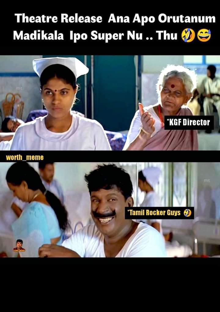Kgf Movie Director Vs Tamilrockers Guys Meme Tamil Memes