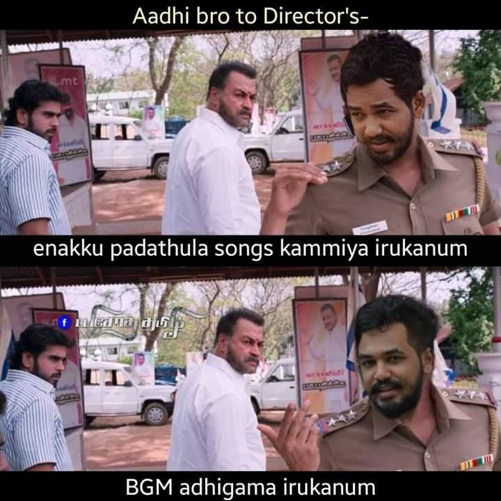 Hip Hop Tamizha To Movie Directors Be Like Meme Tamil Memes