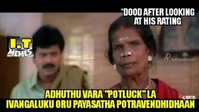 List Of Best Comedy Tamil Memes