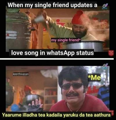 Whatsapp tamil status single Tamil Whatsapp